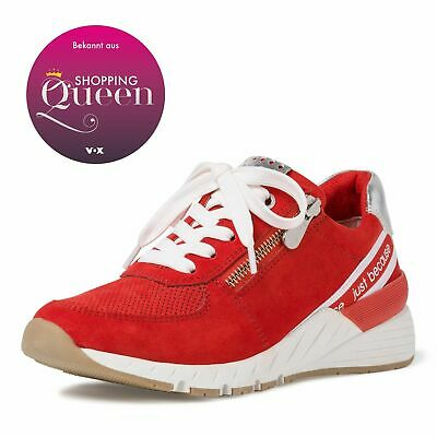 MARCO TOZZI Premio Fashion Sneaker Schuhe Low Top 2 23739 34 Burn Orange Core | eBay