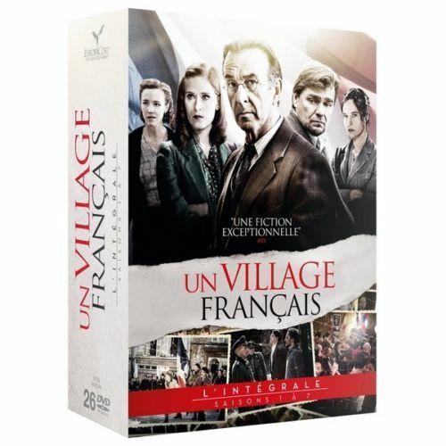 UN VILLAGE FRANCAIS L' intégrale des saisons 1 à 7  COFFRET DVD NEUF SOUS CELLO