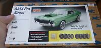 Johan Testors Hso Amc Amx Pro Street 1/25 Model Car Mountain Kit