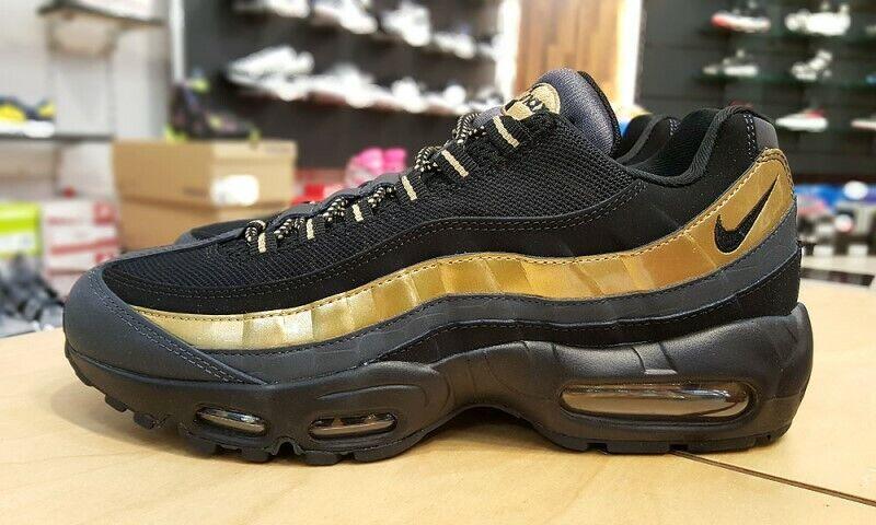Nike Air Max 95 Prm blackblack dark grey white 538416 016 Kids Running Shoes 538416 016