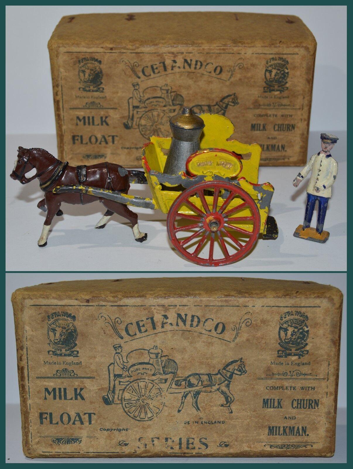 Taylor Barrett Cetandco Milk Float w Original Box