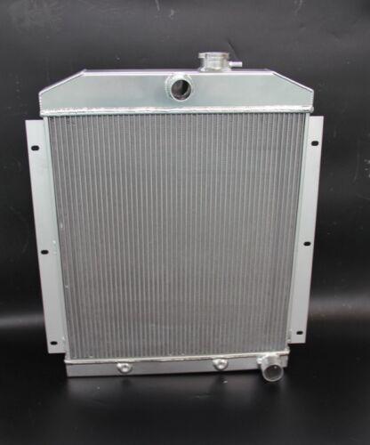 3 Row Full Aluminum Radiator for 1949-1954 1950 Chevy 3100//3600//3800 Truck