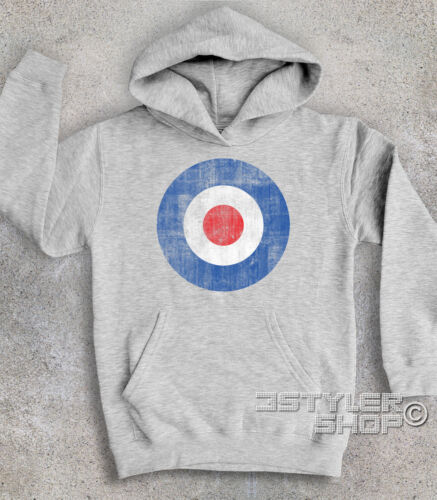 Plush baby logo TARGET BLUE MODS vespa lambretta the who Pete Townsend vintage