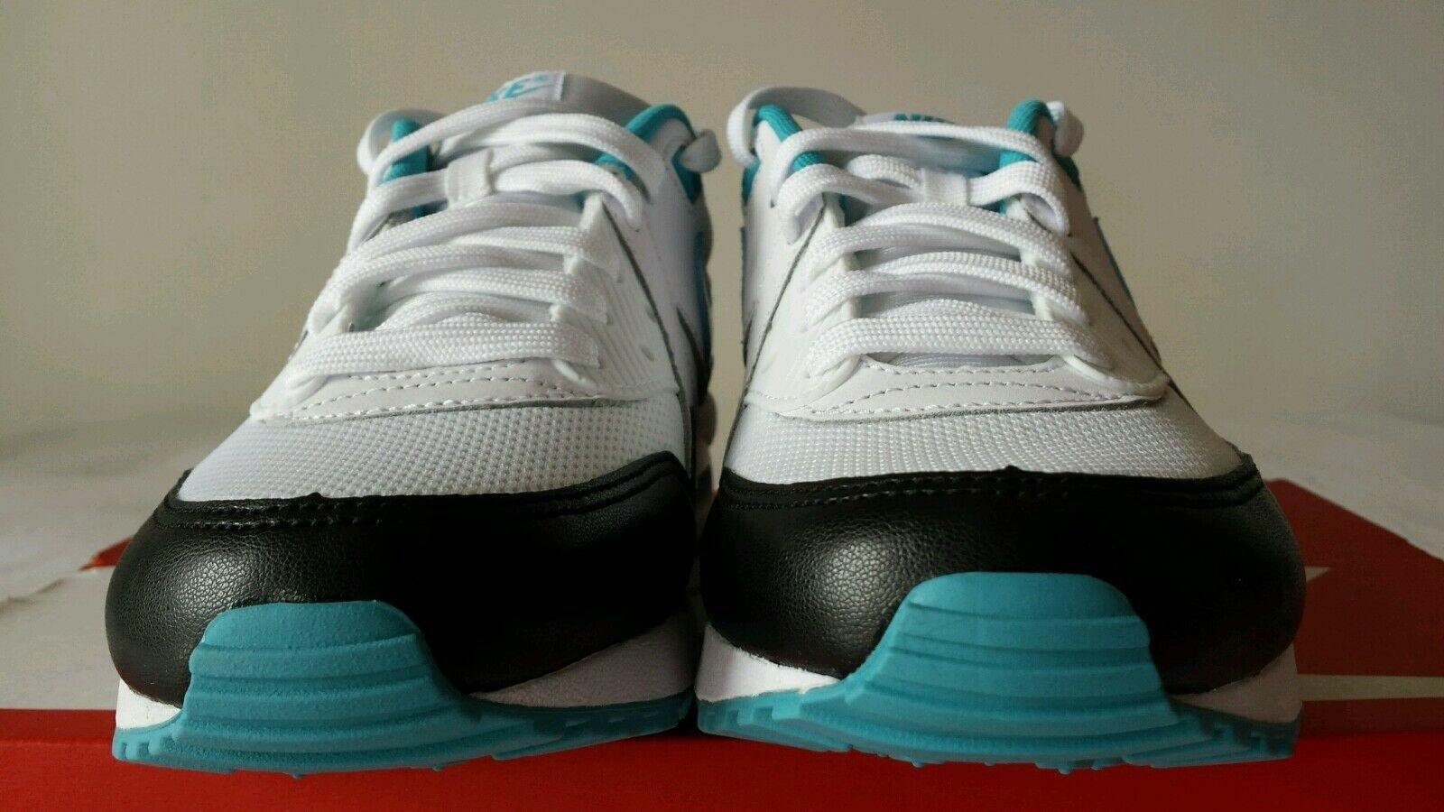 NIKE AIR MAX MAX MAX 1 LIGHT NERA BIANCA verde SMERALDO N.38,5 LIMITED EDITION OKKSPORT d7ac50