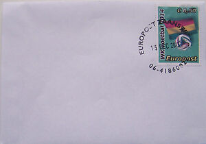 Stadspost-Europost-2013-FDC-WK-2014-Voetbal-Football-Ghana