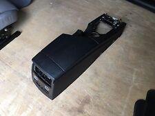 OEM BMW 5 series e60 Center Console Arm Rest Storage Tray Wood Grain Trim Assy