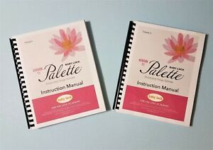 Baby Lock Palette Version 11 User/'s Guide  Instruction Manual Full Color