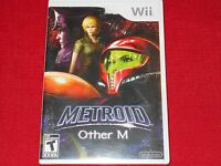 Metroid Other M Nintendo Wii Factory Sealed Classic Lk