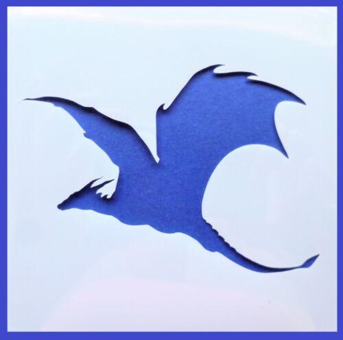Flexible Stencil *DRAGON* Medium GOT Fantasy Card Making Craft 14cm x 14cm