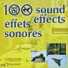 100 Sound Effects Vol.3 von Various | CD | Zustand gut