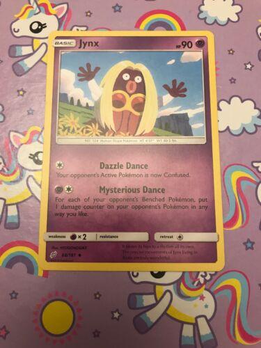POKEMON TEAM UP CARD 68//181 JYNX