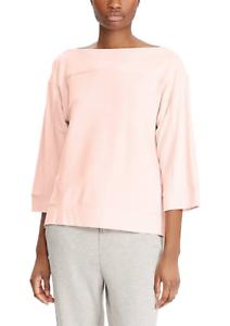 Nwt 79 Ralph Pink Xl L Top Lauren Viscose Sweater M Size 4rwqv4d