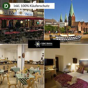 3 Tage Kurzurlaub im Hotel Edelweiss in Bremen mit Frühstück