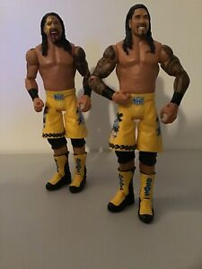 WWE-Mattel-action-figure-BASIC-USO-JIMMY-JEY-USOS-TAG-TEAM
