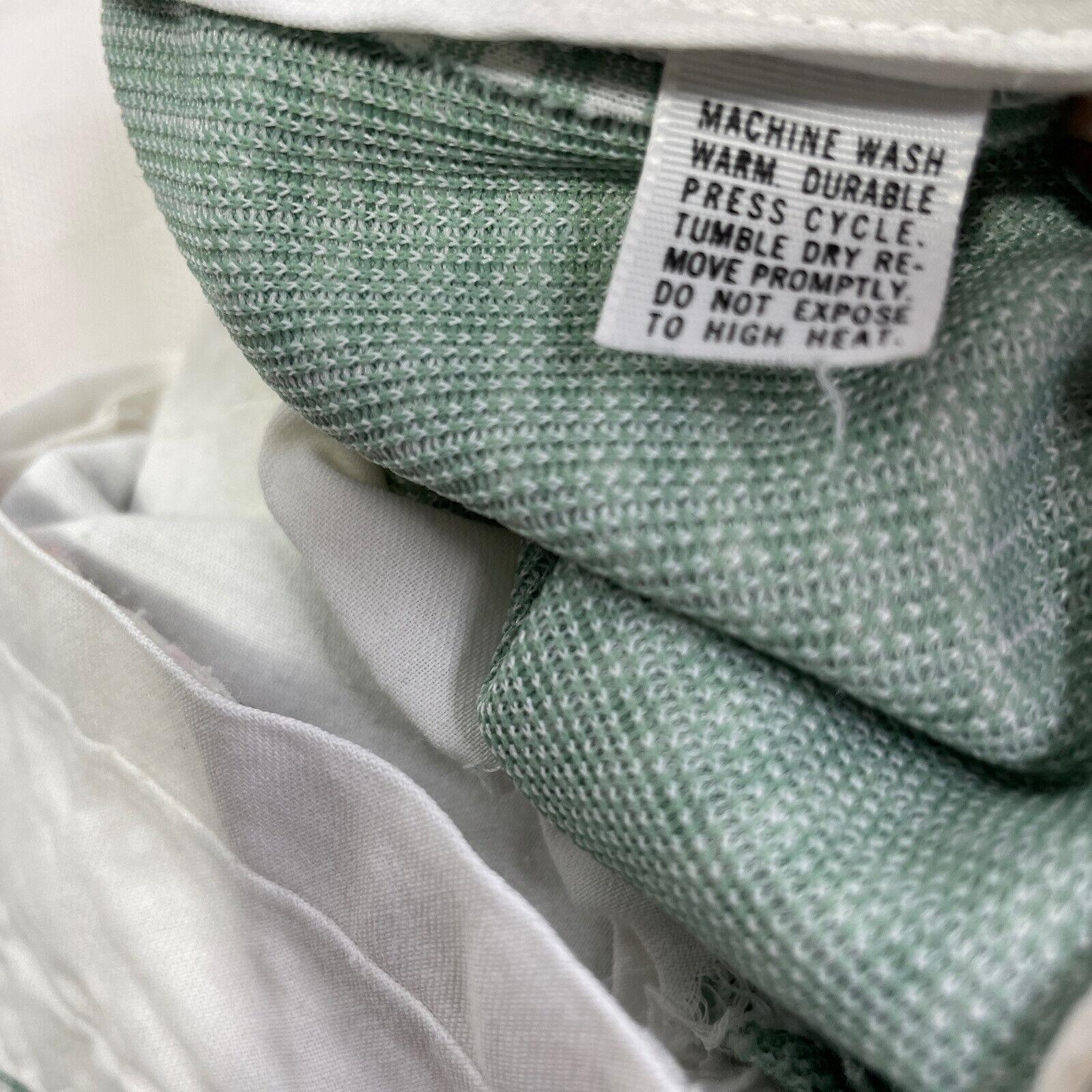Haggar Green Plaid Check Leisure Golf Pants Vinta… - image 7
