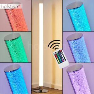 RGB LED Steh Boden Stand Lampen Wohn Schlaf Zimmer Raum Leuchten Fernbedienung