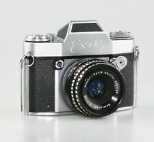 Ihagee Exa II 35mm SLR Camera with Meyer-Optik G. Domiplan f2.8/50mm Lens (W55)