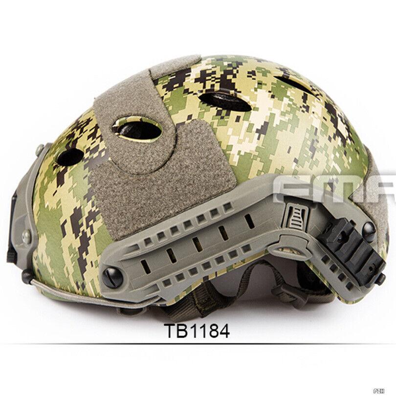 FMA táctico casco rápido tipo PJ de Airsoft AOR2 TB1184