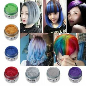 Hair Color DIY Pomades MOFAJANG Wax Mud Dye Styling Cream ...