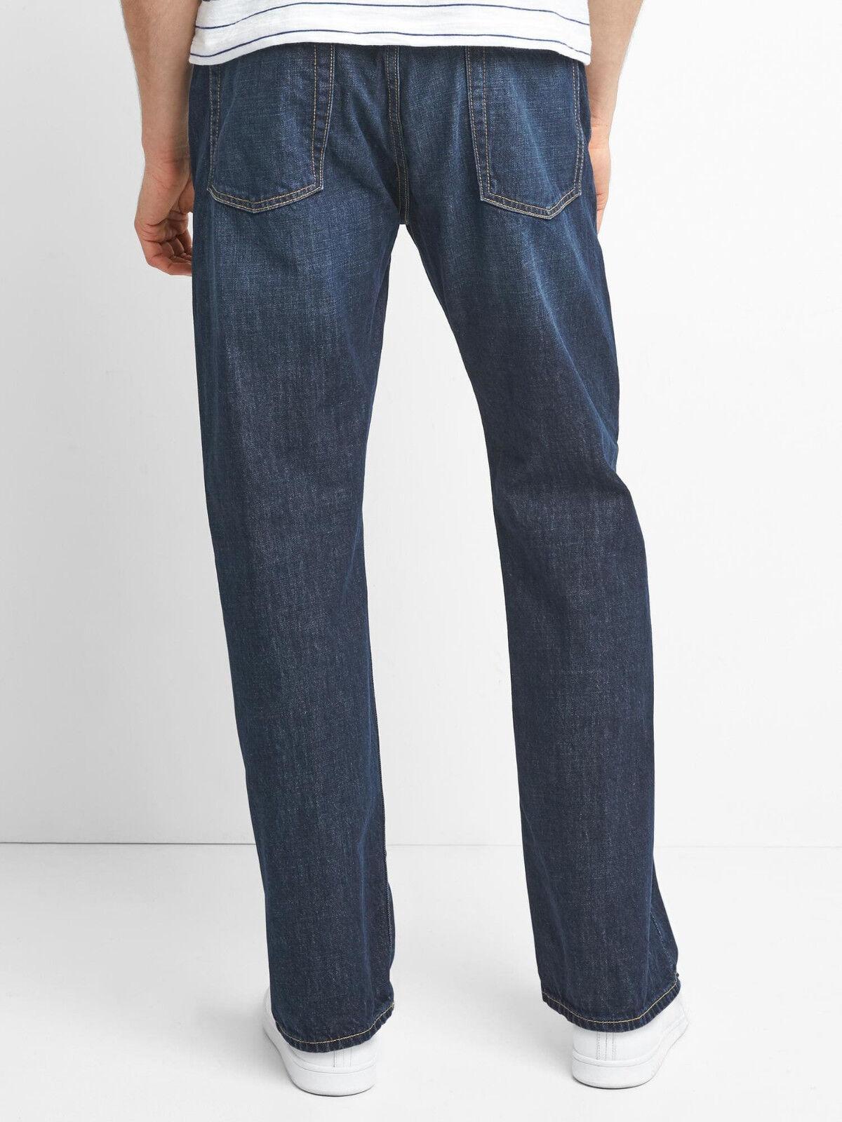 JW Anderson x Uniqlo Men's JWA Vintage Straight Jeans Kaihara Denim NEW 33x34