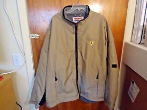 Mens-034-NOS-034-International-N-A-P-T-Beige-amp-Black-Size-2-XL-Wind-Breaker-Jacket