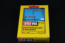 W355 BRAWA Ho 5586 Panneau eclairant lumineux signalisation absperrschranken