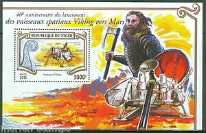 NIGER-2015-40th-ANNIVERSARY-THE-LAUNCH-OF-THE-VIKING-MARS-MISSION-S-S-MINT-NH