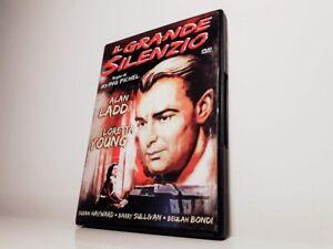 DVD-IL-GRANDE-SILENZIO-Alan-Ladd-Loretta-Young-Susan-Hayward-STAMPA-A-amp-R