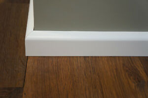 Fussleisten-Paket-Sockelleisten-Hartholz-Birke-kein-MDF-weiss-lackiert-RAL-9010