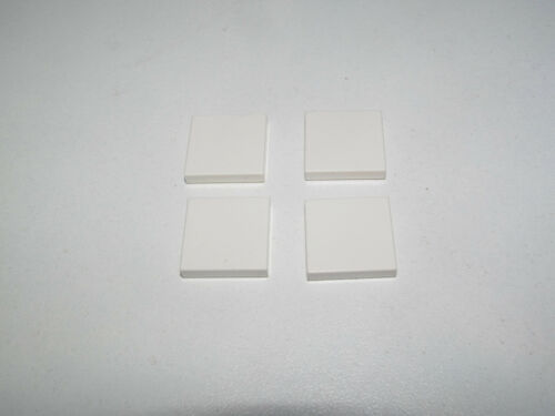Lego ® Lot x4 Plaques Lisses 2x2 Plate Tiles with Groove Choose Color 3068b