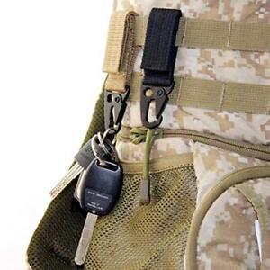 Outil Hanging Belt Buckle Black Military Web Hooks Bag Hanging Webbing Buckle LP