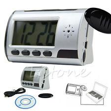 New Digital Clock DVR USB Motion Alarm Video Audio Recorder Spy Hidden Camera