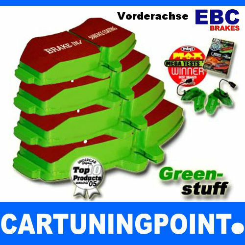 EBC Brake Pads Front Greenstuff for Chevrolet Malibu V300 DP22014