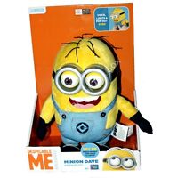Despicable Me 2 Minion Dave Talking Plush w Pop Out Eyes NEW SHIPS IN US Toys