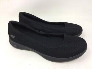 New-Women-039-s-Skechers-14472-GO-STEP-Lite-Enchanted-Skimmer-Slip-On-Black-B29