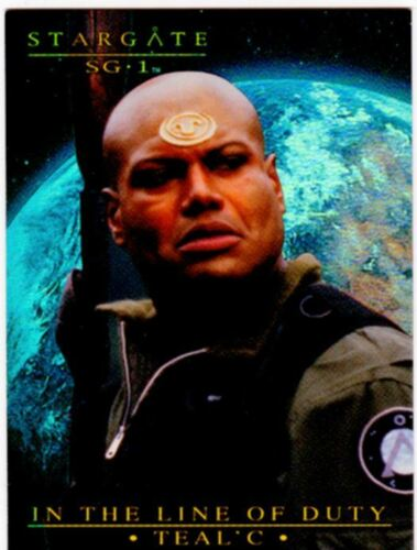 Stargate SG1 Season 7 In The Line Of Duty Tealc Chase Card T7