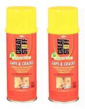 Great Stuff Foam Fills Gaps Amp Cracks Insulating Foam Sealant 2 Pack