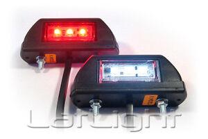 2x-LED-Umrissleuchten-12V-24V-Positionsleuchten-LKW-Begrenzungsleuchte