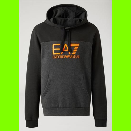 EA7 EMPORIO ARMANI 6ZPM38 Men's Sweatshirt 3909 Carbon MELANGE-XL