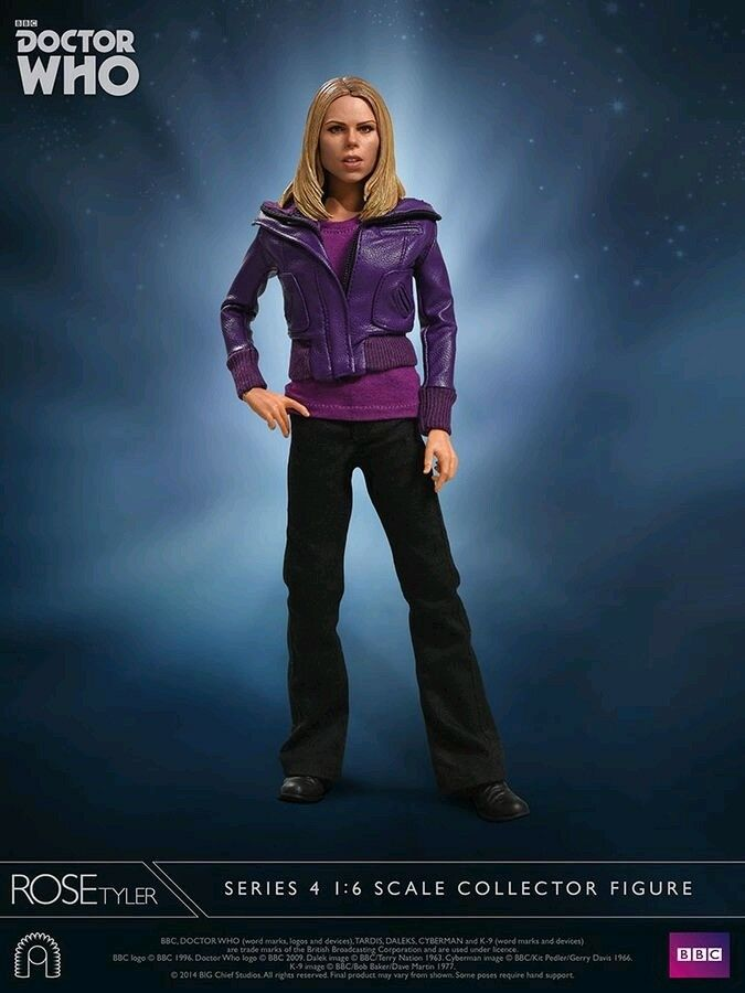 1:6 1:6 1:6 Scale Figures--Doctor Who - Rose Tyler Series 4 12