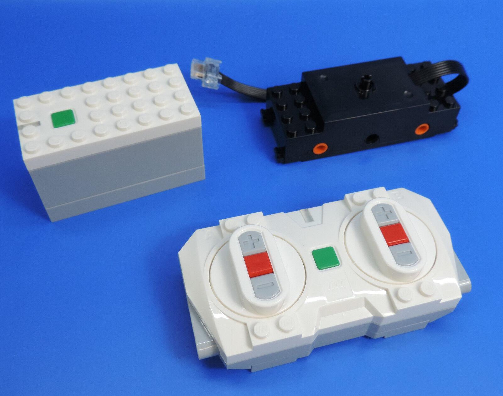 LEGO® Eisenbahn Blautooth Set  Fernsteuerung  Batteriebox  Motor 60097,60198