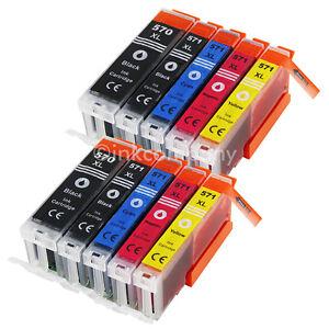 10x-XL-TINTE-PATRONEN-fuer-CANON-PIXMA-MG5700-MG5750-MG5751-MG5752-MG5753-Set