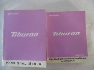 image is loading 2003-hyundai-tiburon-service-repair-manual-includes-wiring-