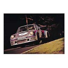 Porsche 911 Turbo RSR Airborne Martini Racing Nurburgring 1974 Poster