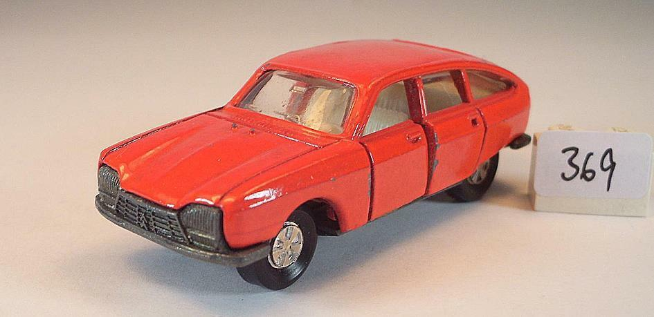 Majorette 1 65 Nr. 201 Citroen GS Limousine red, missing Parts