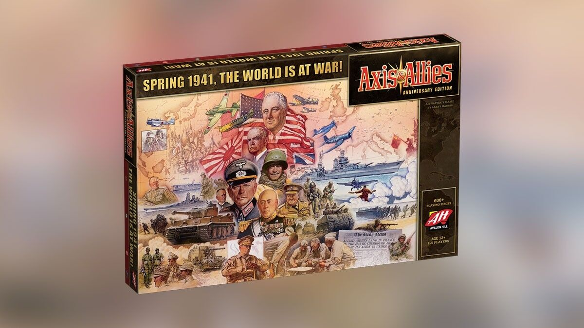 AVALON HILL spel Axis And Allies Annivery Edition spel (2017)
