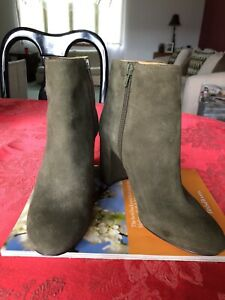 Nine West ankle boots Size 7 Dark Green