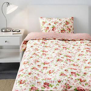 Ikea Bettwäsche Bettwäscheset Rosali 2 Teilig 80x80 Und 140x200 Cm