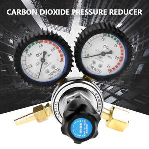 Riduttore Regolatore Di Pressione CO2 Con Manometro Per Bombola Birra Saldatura