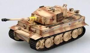 Easy Model Tiger I Late Spät 1/312 s.Pz.Abt.505 1944 Fertigmodell 1:72 Trumpeter